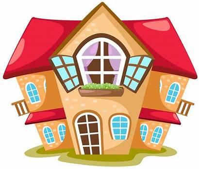 Cartoon Vector Residential Illustration