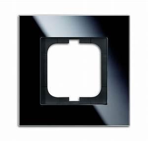 Carat Busch Jäger : busch jaeger 1721 825 carat abdeckrahmen glas schwarz 1 fach online kaufen im voltus elektro shop ~ Frokenaadalensverden.com Haus und Dekorationen
