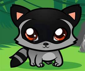 How to Draw Easy Raccoon for Kids
