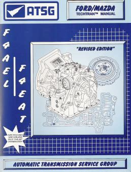 small engine repair training 2002 mazda millenia electronic valve timing ford mazda f4a el f4eat transaxle automatic transmission atsg rebuild manual softcover
