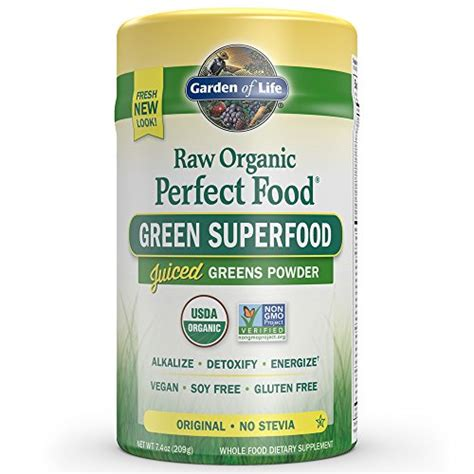 Garden Of Juiced Greens Powder by Garden Of Organic Food Green Superfood