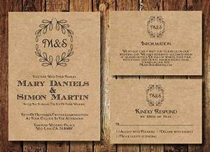 free rustic wedding invitation templates songwol With blank country wedding invitations