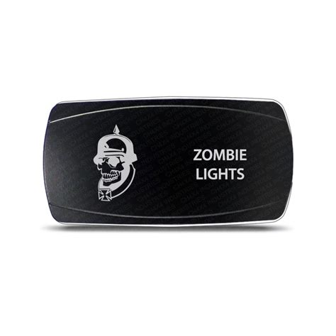Chx Rocker Switch Zombie Lights Symbol Horizontal