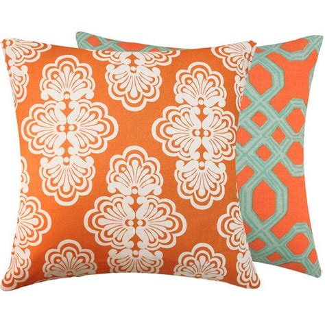 Turquoise Toss Pillows by Colorful Pillow Orange And Turquoise Blue Lilly Pulitzer