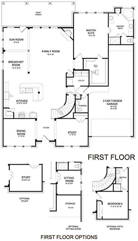 brighton homes floor plan