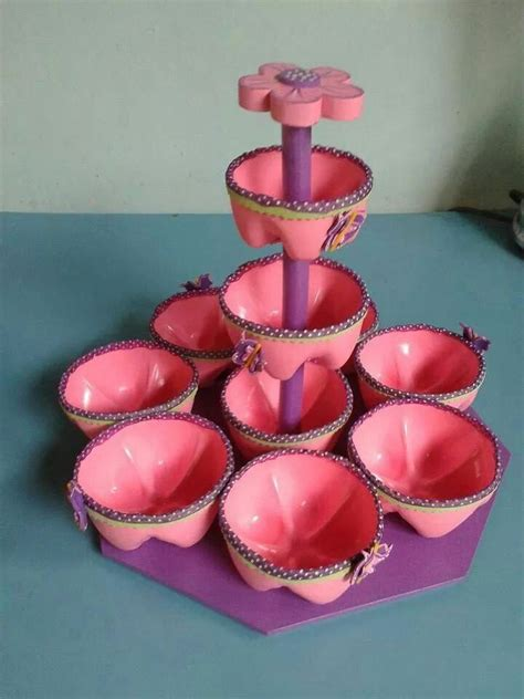 dulcero reciclado rosa manualidades artesan 237 as de botella de pl 225 stico manualidades con
