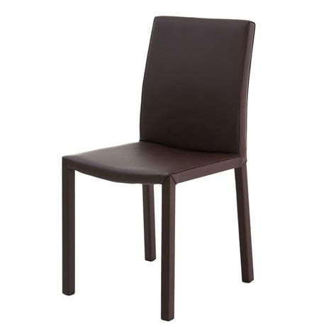 Lot De 4 Chaises Design by Lot De 4 Chaises Design Marron Kosyform