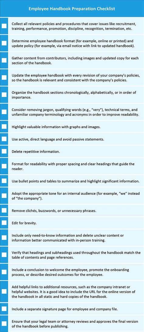 employee  company handbook templates smartsheet