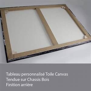 Chassis Pour Toile Tendue : tableau personnalis sur toile canvas chassis bois 60 x 120 cm ~ Teatrodelosmanantiales.com Idées de Décoration