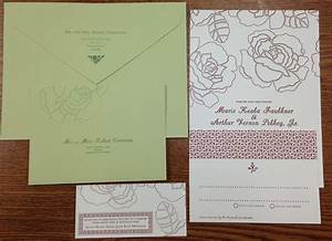 Wedding invites helpful tips cannelli printing company for Wedding invitation printing tips
