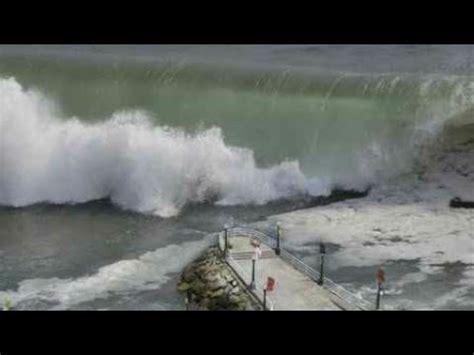 updated tsunami hits greenland  raw video youtube