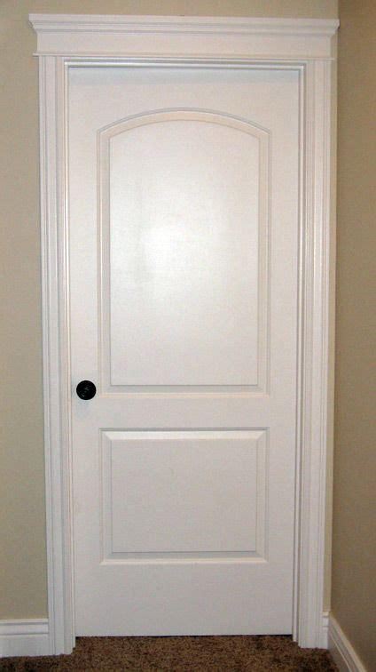 Bedroom Door Sticks At Top by Crown Trim On Top Of Interior Door Iowa Remodels