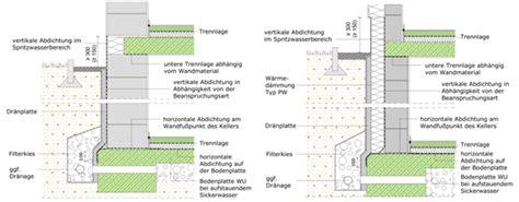 horizontale abdichtung mauerwerk 9 5 ausf 252 hrung abdichtung und konstruktion mauerwerksbaulehre