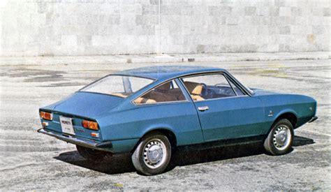 1972 Fiat 127 Coupe (Moretti) - Studios