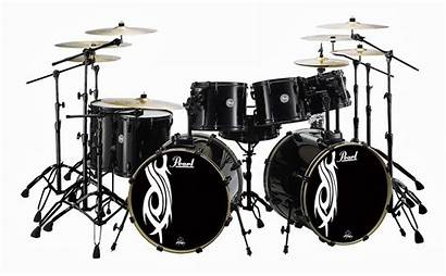 Drum Pearl Bass Drums Kits Double Kit