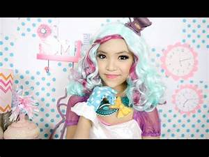 Ever After High Madeline Hatter Makeup Tutorial - YouTube