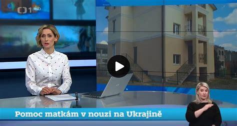 Reportáž ČT o našem Domově pro matky s dětmi v Oděse