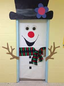 Christmas Classroom Snowman Door Decoration