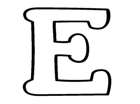 capital letter b coloring pages moldes letra e grig3 org