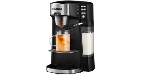 Works with k cups and pods, and does not break the bank? Gourmia Single Serve K-Cup Pod Coffee Maker with Built-In Frother - Just $49.99! - Common Sense ...