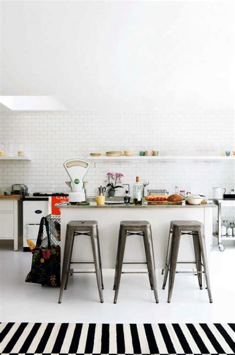 cuisine scandinave le tapis scandinave 100 idées partout dans la maison