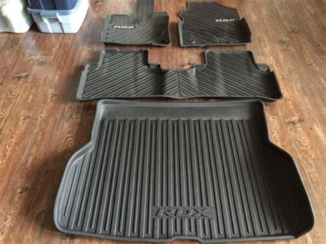 Acura Rdx Car Mats - sold 2013 oem acura rdx floor cargo mats gt new w pic