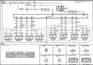 Mazda Protege  Protege5 Audio Wire Diagram With Regard To 2001 Mazda Protege Engine Diagram