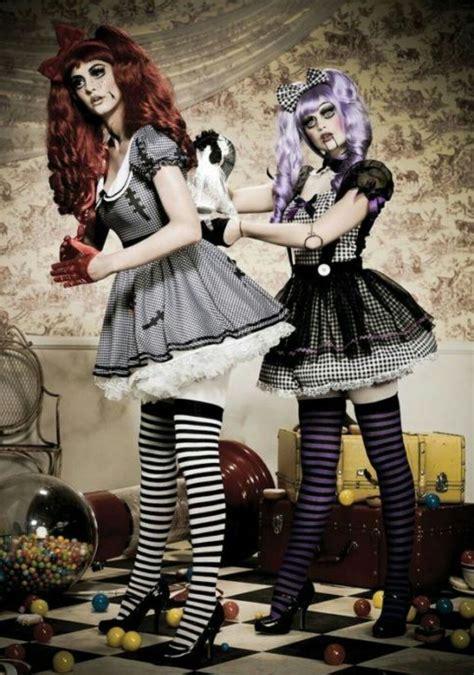 Muñecas Disfraces de terror Disfraces halloween mujer