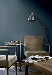Sejour Style Industriel : peinture salon 25 couleurs tendance pour repeindre le salon ~ Teatrodelosmanantiales.com Idées de Décoration