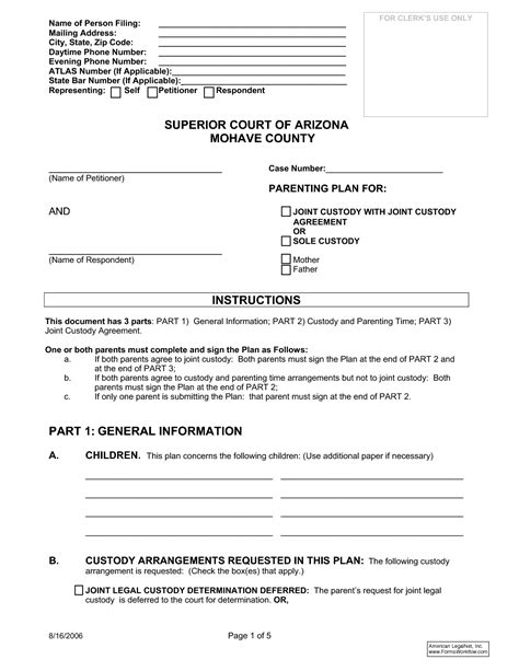 joint custody agreement template best photos of joint agreement forms sle joint venture agreement template joint custody
