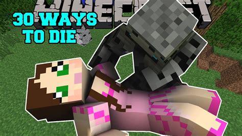 Minecraft Weirdest Deaths Ever!  30 Ways To Die Custom