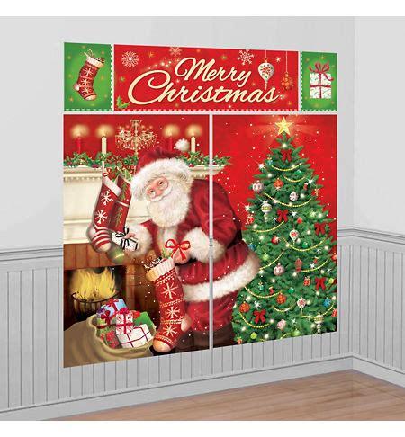 Christmas Scene Setters  Christmasthemed Vinyl Wall