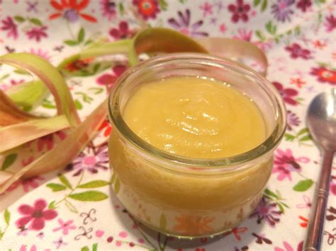 cuisiner rhubarbe compote pomme rhubarbe pour ceux qui aiment cuisiner