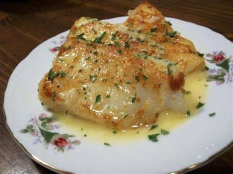 pan fried fish   rich lemon butter sauce recipe