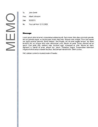 Simple memo template costumepartyrun format of a company memo search results calendar 2015 altavistaventures Image collections