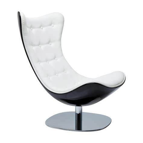 acheter un bureau fauteuil design noir et blanc atrio deluxe kare