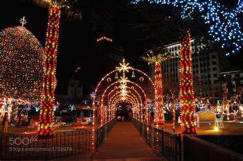el paso s 77th annual christmas tree lighting parade