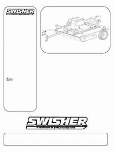 Download Swisher Lawn Mower Pol10544hd Manual And User