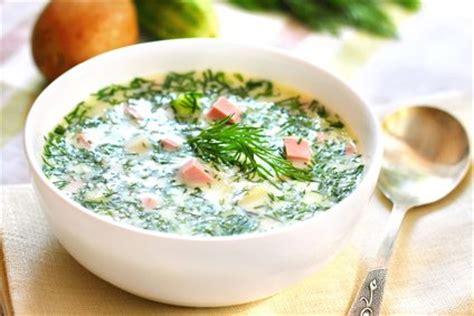 russische suppe okroschka rezept kochrezepteat