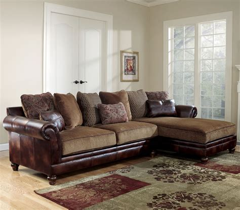 Corduroy Sectional Sofa Ashley by Ashley Leather Living Room Furniture