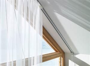 Vorhang Mit Schiene : gardinen deko gardinen dachschr gen anbringen gardinen dekoration verbessern ihr zimmer shade ~ Sanjose-hotels-ca.com Haus und Dekorationen
