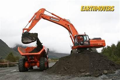 Excavator Doosan Equipment Heavy Toys Tonka Cat