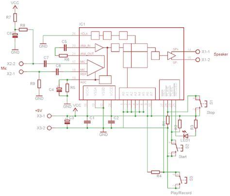 sirkitelektronika rangkaian alarm dengan perekam suara