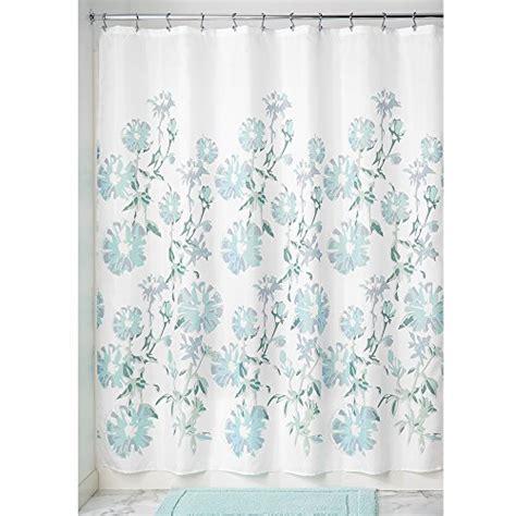 interdesign azalea soft fabric shower curtain 72 x 72