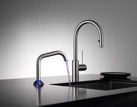 semi automatic faucet  kwc  uso touch faucet