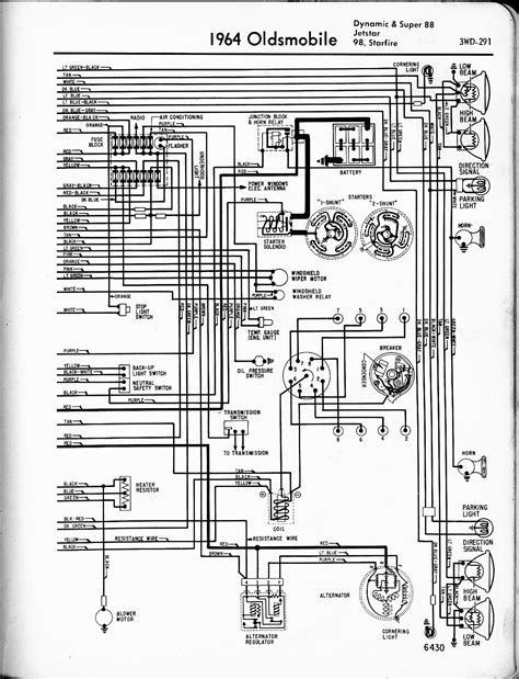1972 Oldsmobile Cutlas Engine Diagram by Oldsmobile Wiring Diagrams The Car Manual Project