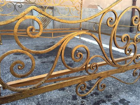Ladari In Ferro Battuto Antichi - antico letto matrimoniale in ferro battuto neoretr 242