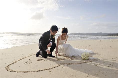 Beach Wedding : Coolangatta Estate Winery Weddings