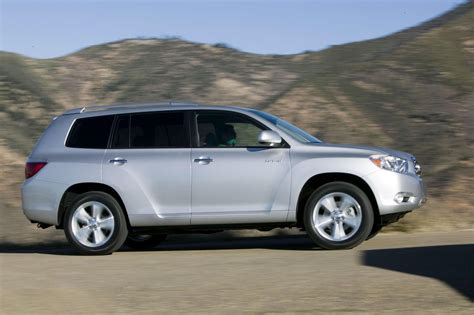 2010 Toyota Highlander Technical Specifications And Data