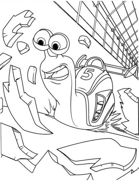 Turbo Kleurplaat by N Kleurplaat Turbo Pixar Turbo Pixar